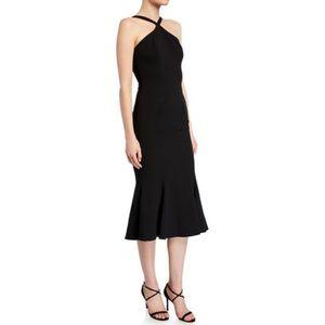 Dress The Population Tessa Halter-Neck Bodycon
